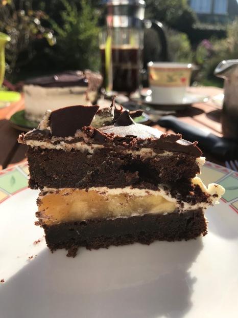 Apfel-Schokoladen-Torte