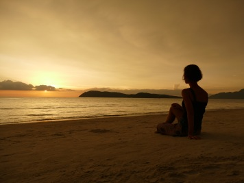 Sonnenuntergang in Langkawi
