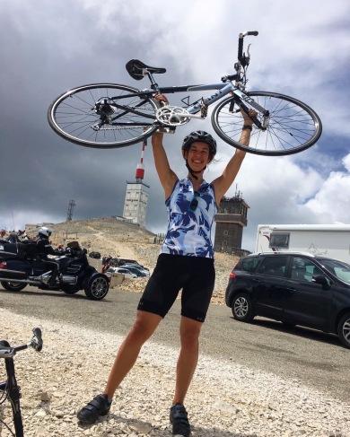 Auf dem Mt Ventoux angekommen!