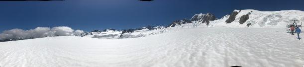 Auf dem Fox Gletscher
