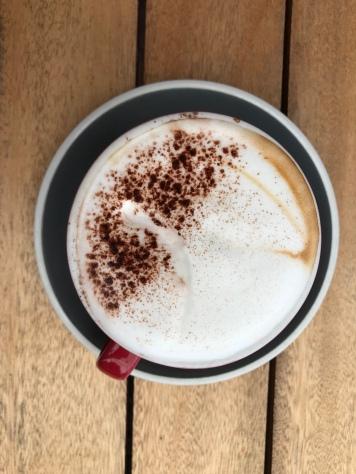 Nicht ganz so hübscher Cappuccino