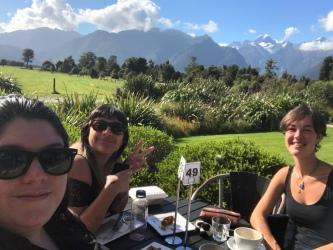 Loren, Nadia und ich