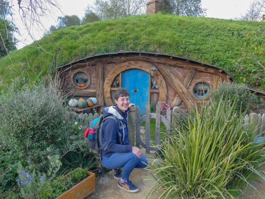 Franzi in Hobbiton